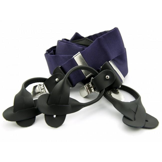 Bretels zijde donkerpaars 0097| GENTS.nl | Hoogste kwaliteit voor de laagste prijs
