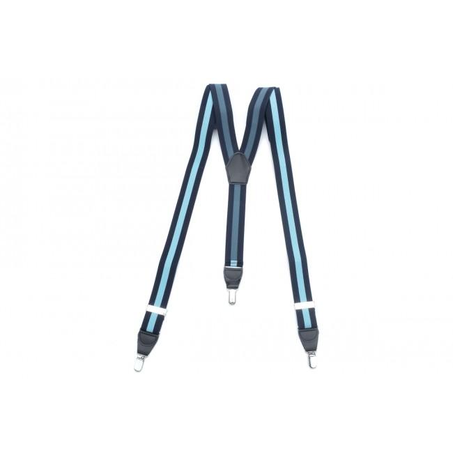 Bretels navy-lichtblauw 0102| GENTS.nl | Hoogste kwaliteit voor de laagste prijs
