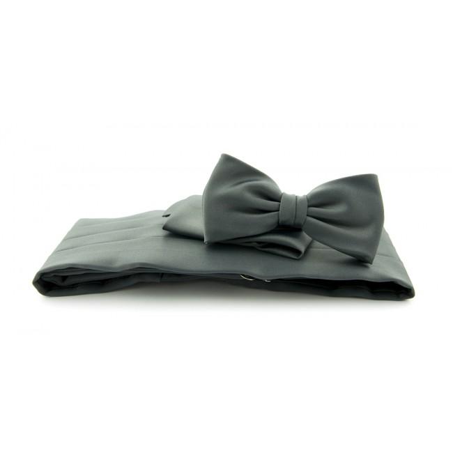 Cumberband set donker grijs 0006| GENTS.nl | Hoogste kwaliteit voor de laagste prijs