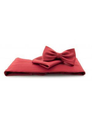 Cumberband set midden rood 0013| GENTS.nl | Hoogste kwaliteit voor de laagste prijs