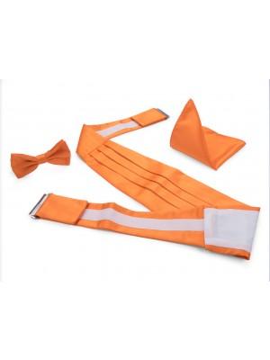 Cumberbandenset oranje 0014