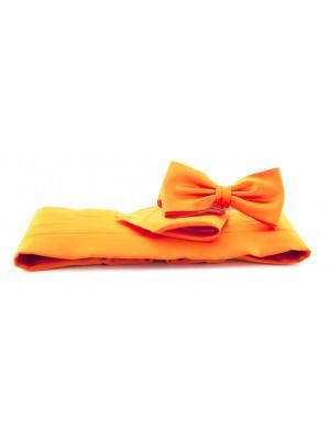 Cumberband set oranje 0014| GENTS.nl | Hoogste kwaliteit voor de laagste prijs