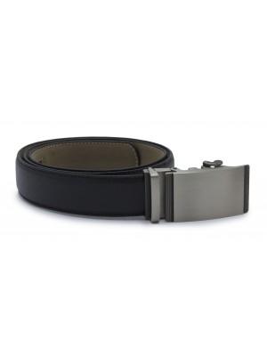 Riem clickgesp structuur zwart 0017| GENTS.nl | Hoogste kwaliteit voor de laagste prijs