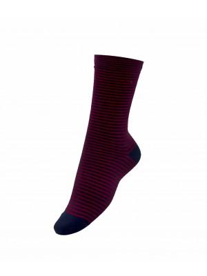 Sokken blauwrood streep 0011| GENTS.nl | Hoogste kwaliteit voor de laagste prijs