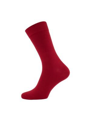 gents Sokken Sokken rood 0047