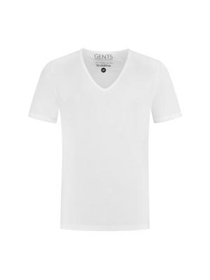 T-shirts 2 pack v-hals 0001