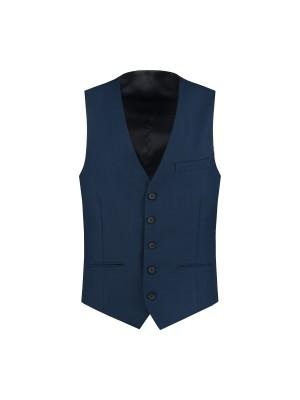 gents Gilet M&M gilet PV royal blue 0004