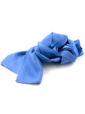 no label Shawls Shawl midden blauw 25x160cm 0009