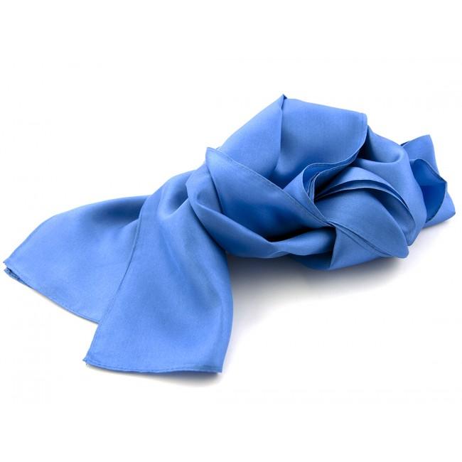 Shawl midden blauw 25x160cm 0009| GENTS.nl | Hoogste kwaliteit voor de laagste prijs