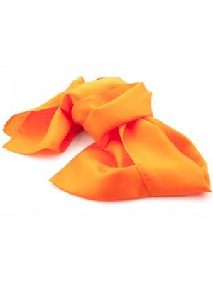 Shawl oranje 25x160cm 0010