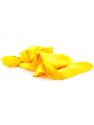 Shawl geel 70x70cm 0015