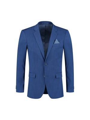 M&M colbert linnenlook blauw 0020| GENTS.nl | Hoogste kwaliteit voor de laagste prijs