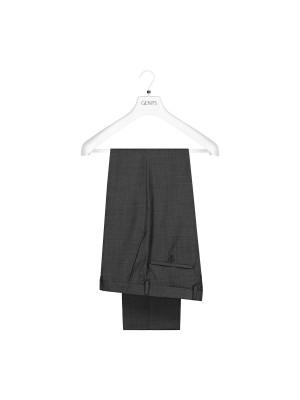 M&M pantalon Wol grijs 0015