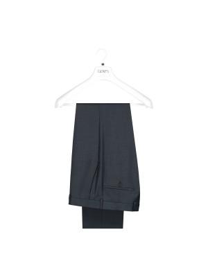 M&M pantalon Wol blauw 0016