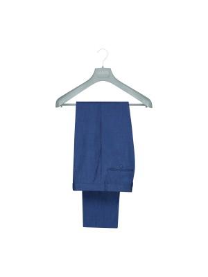 Pantalon linnenlook blauw 0018