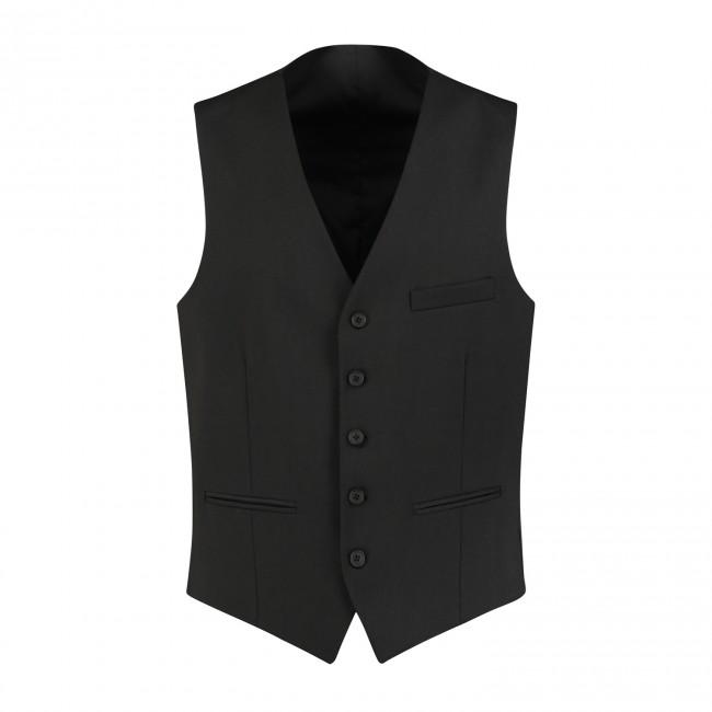M&M gilet PW zwart 0001| GENTS.nl | Hoogste kwaliteit voor de laagste prijs