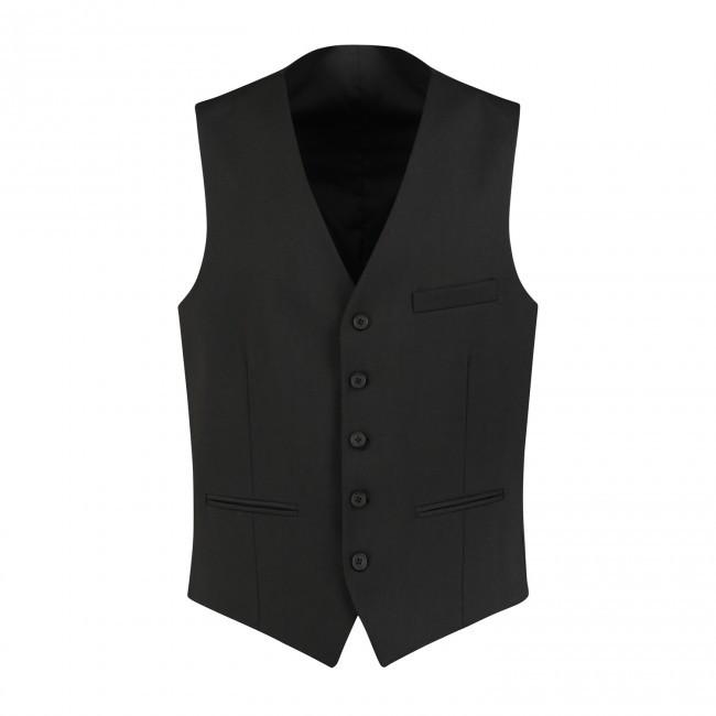 M&M gilet PV zwart 0006| GENTS.nl | Hoogste kwaliteit voor de laagste prijs