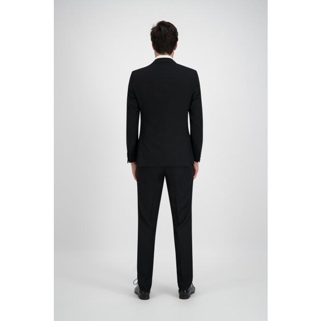 Pak polyviscose zwart 2-delig 0009| GENTS.nl | Hoogste kwaliteit voor de laagste prijs