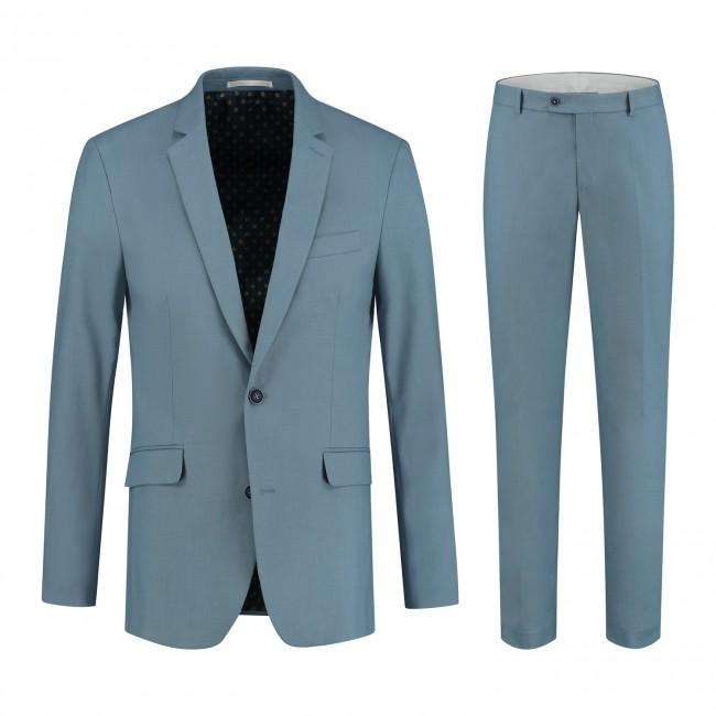 Mix & Match kostuum katoen zeeblauw
