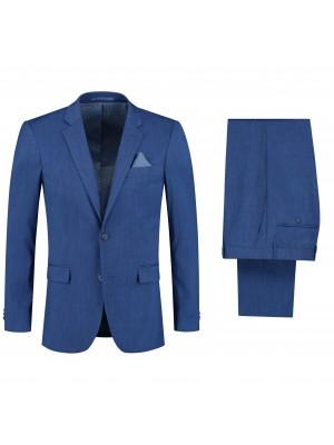 Pakken M&M pak linnenlook blauw 2-delig