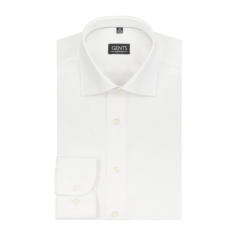 Heren Overhemd Maattabel.Gents Overhemd Nos Wit 0010 Gents Nl Hoogste Kwaliteit Voor De