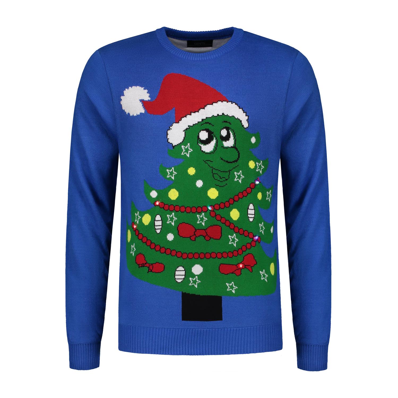 Warme Kersttrui.Gents Kersttrui Kerstboom Blauw 0071 Gents Nl Hoogste Kwaliteit